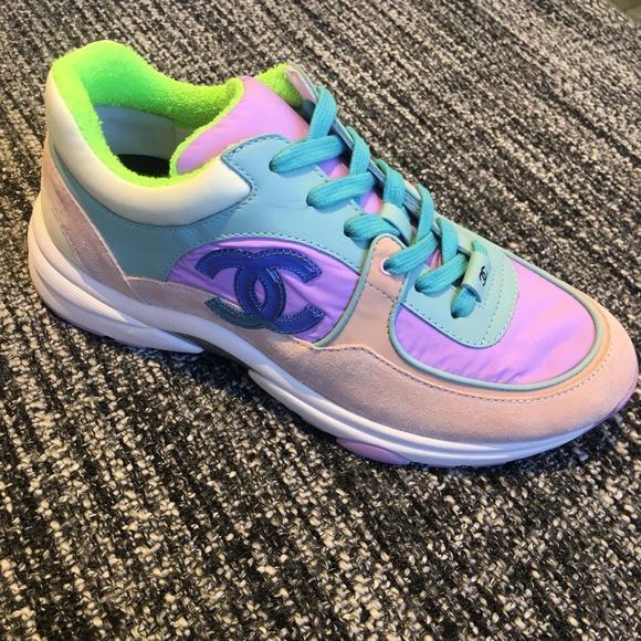 50b950b132ad08 CHANEL Shoes | 19c Sexy Sneakers Eu 40 I Love | Poshmark